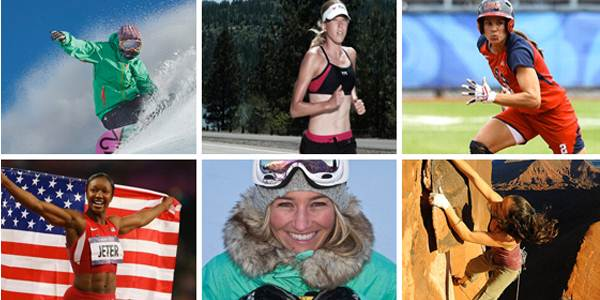 Women in Sports Visual main page