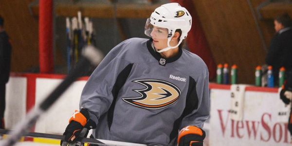 Hilary Knight Skates w/ the Anaheim Ducks